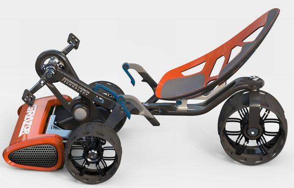 芝刈りにも自転車を!―世界初、自転車型の芝刈り機「Grazor」 - えん乗り