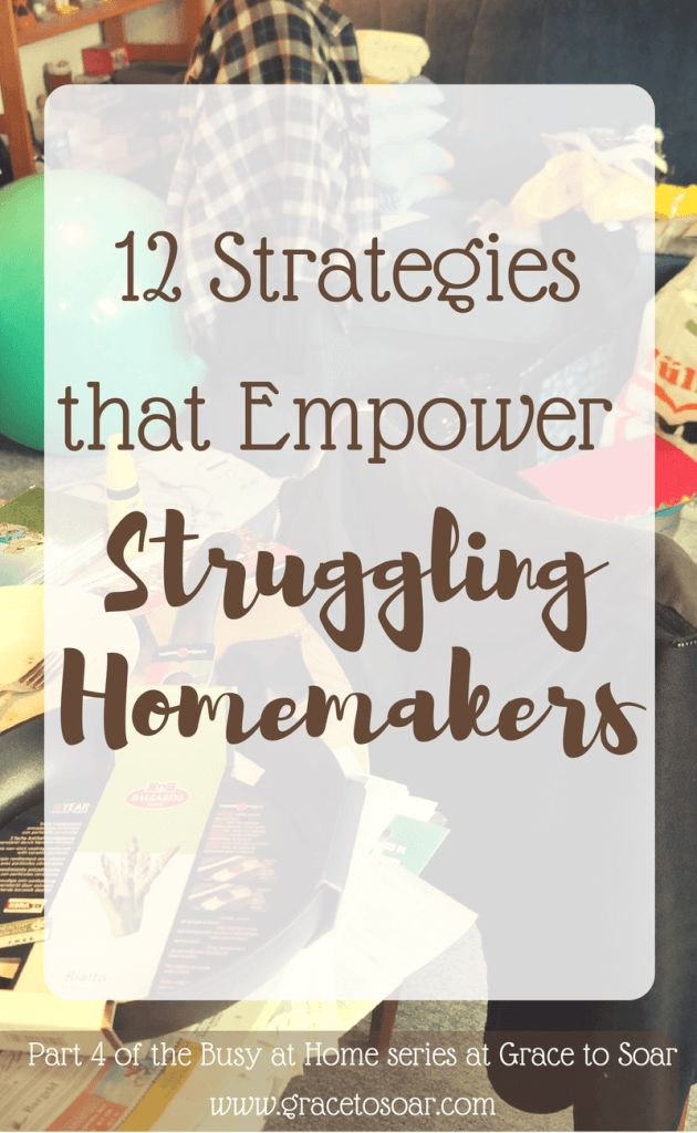 Check out some of the strategies I've used to gain control of my home and life. I think #6 is my favorite!