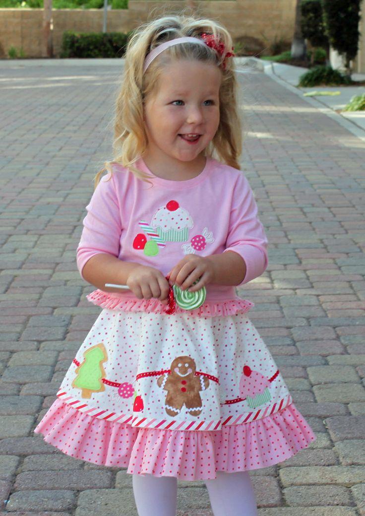 Girls Christmas Dress Pdf Pattern Toddler Christmas Dress