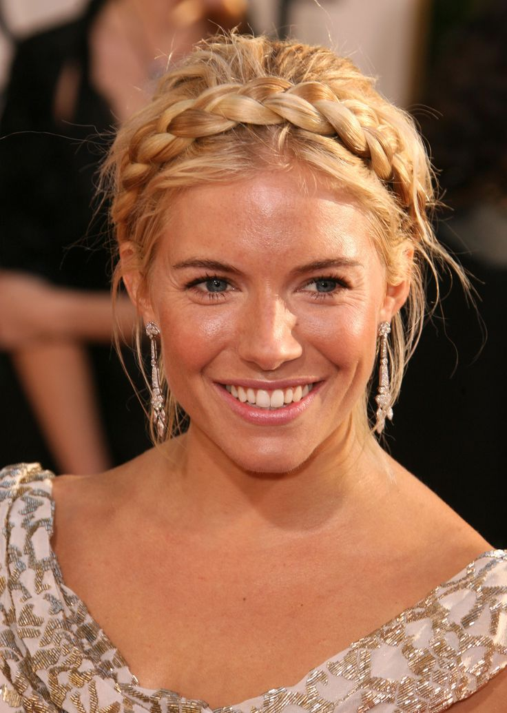 Sienna Miller's braids are the perfect way to keep cool. #getzesty