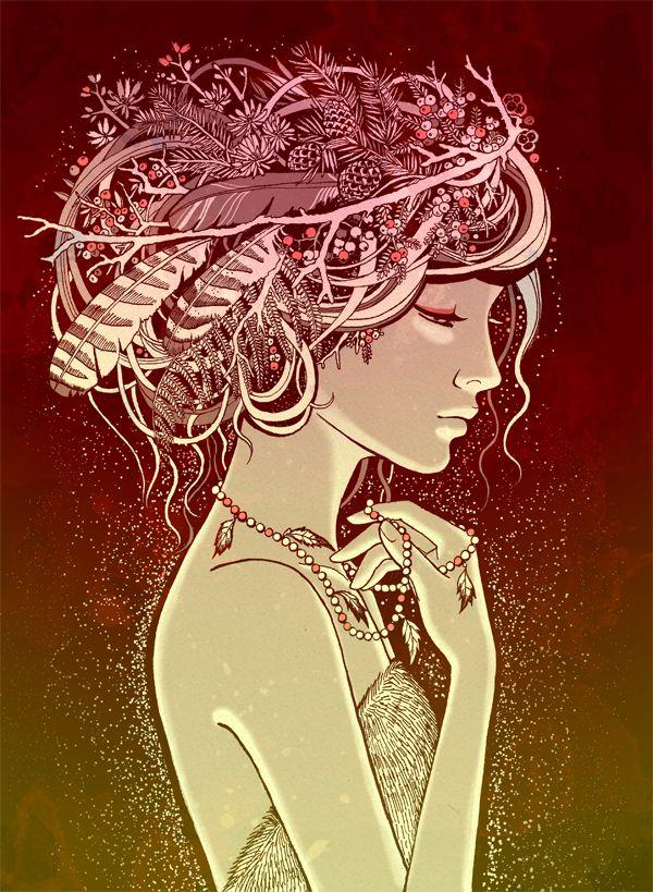 Goddesses of the North_Freyja by ansfhd.deviantart.com on @deviantART