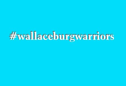 We have our own hashtag! #wallaceburgwarriors