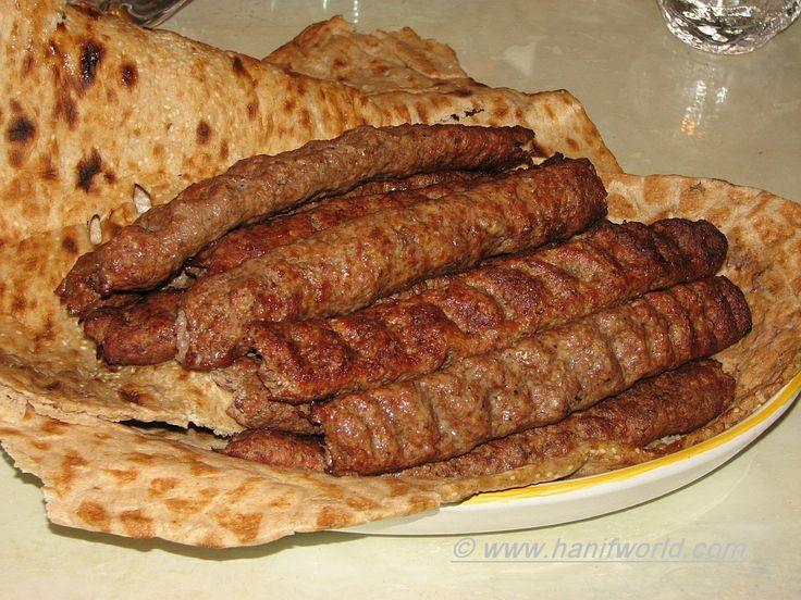 Iranian Cuisine | ... iranian foods kebab koubideh with nan sangak is a traditional iranian