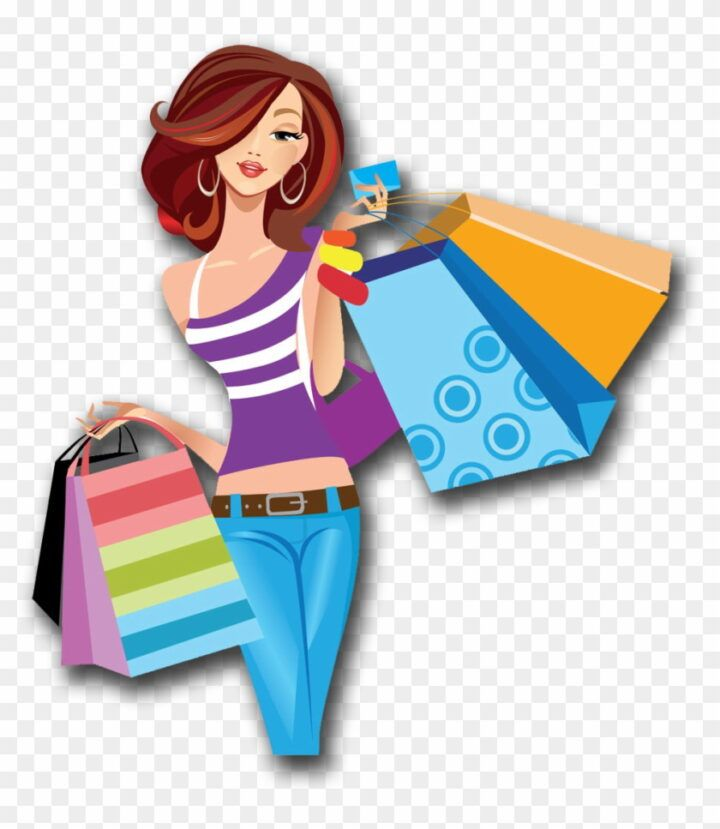 Shopping People Png People Png Bags Duffle