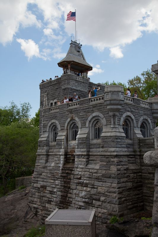Belvedere Castle, Central Park, New York City - things to see with your kids!