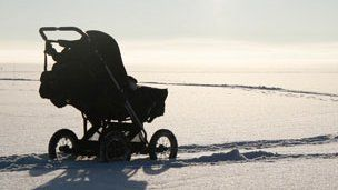 """Would you put your baby or toddler outside in the freezing cold for their lunchtime nap? Most Nordic parents wouldn't give it a second thought. For them it's part of their daily routine.  """"I think it's good for them to be in the fresh air as soon as possible,"""" says Lisa Mardon, a mother-of-three from Stockholm, who works for a food distribution company.  """"Especially in the winter when there's lots of diseases going around... the kids seem healthier."""""""