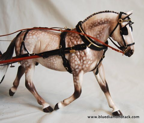 Harness - Blue Diamond Tack