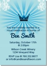 Little prince birthday party invitations