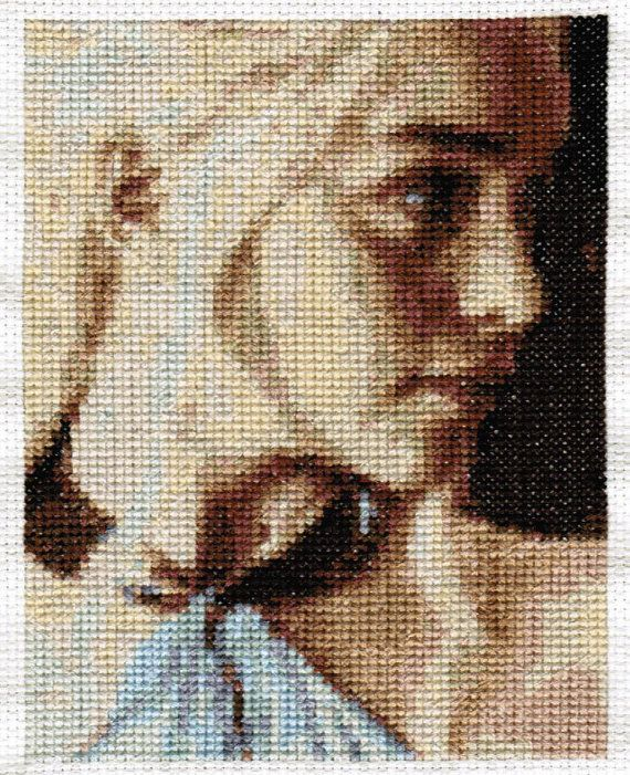 Daenerys Targaryen - Game of Thrones Cross Stitch Pattern