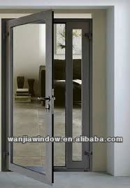 Aluminium casement front door designs $82~$300