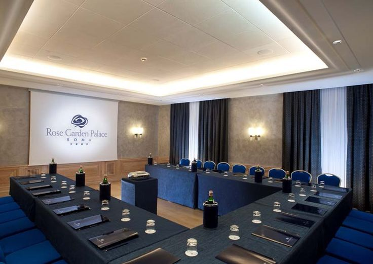Meeting Room Rose Garden Palace Roma