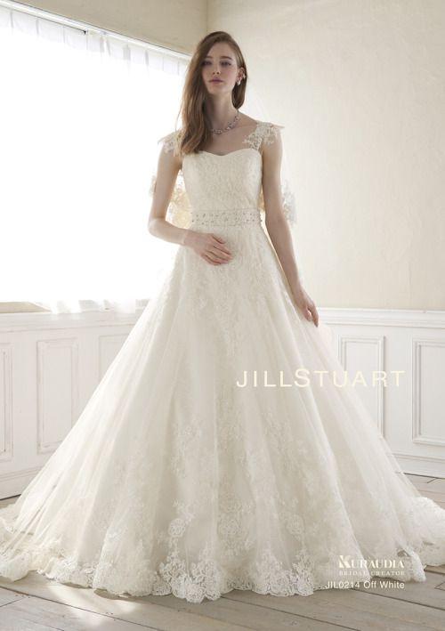 お花のチュールのドレス