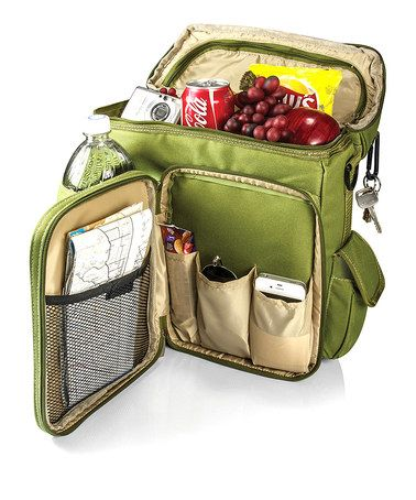 Another great find on #zulily! Green Turismo Insulated Backpack Cooler by Picnic Time #zulilyfinds