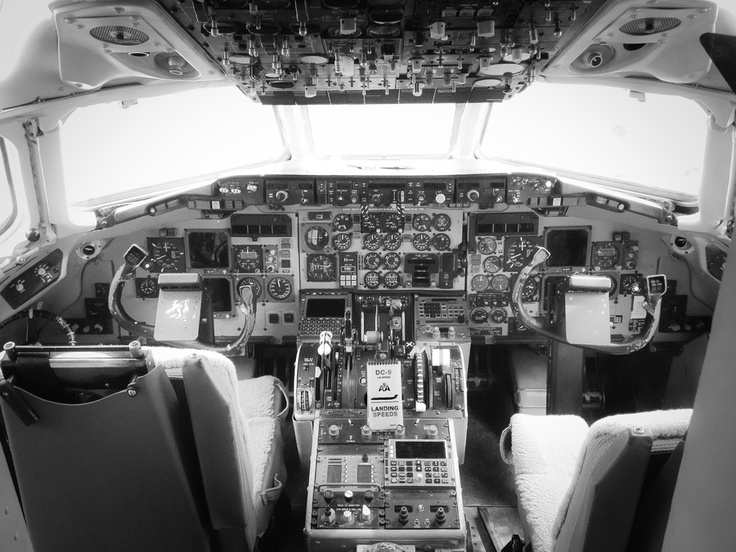 MD-80 Cockpit by Raul Marquez