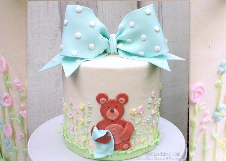 Adorable Teddy Bear Cake