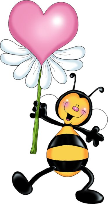 LOVE BUG AND HEART CLIP ART