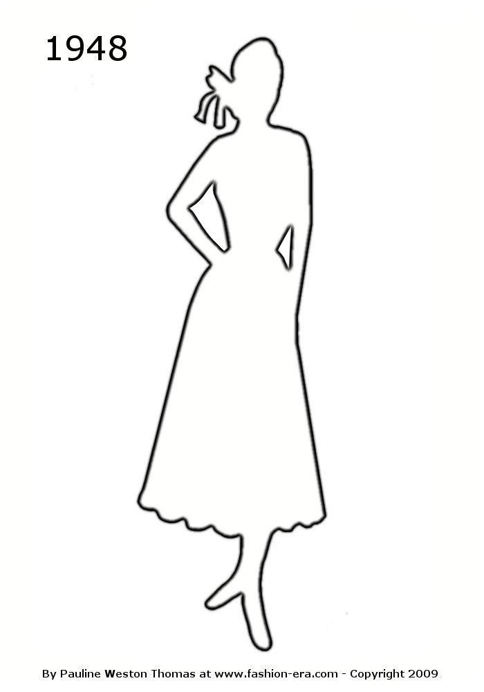 Outline of lady clipart - ClipartFest