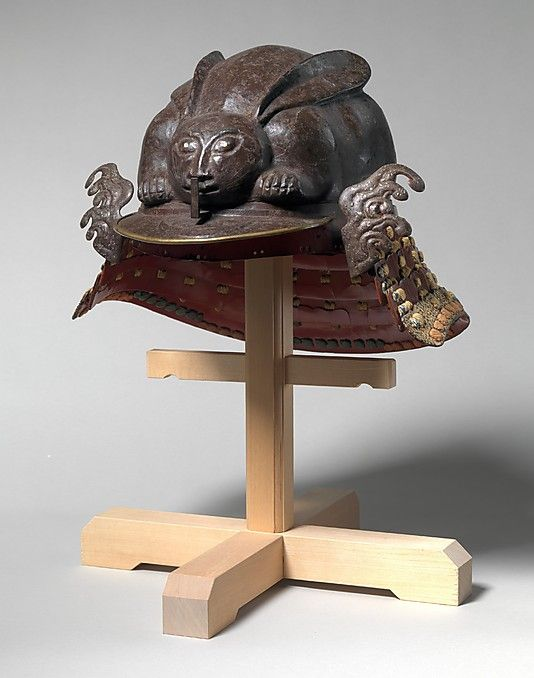 Helmet in the Shape of a Crouching Rabbit, 17th century, Japan