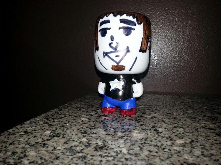 Retro style Adventures of Ryan vinyl figurine.