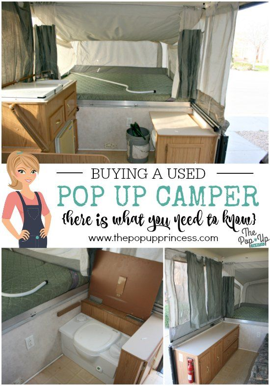 Buying a Used Pop Up Camper.  Lots of great information on what to look for when buying a previously owned tent trailer.