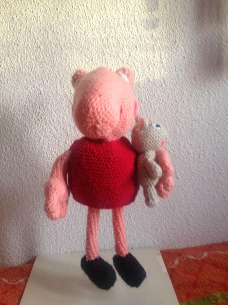 La PEPPA PIG  echo con lana