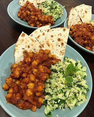 GATIM, MANCAM, SAVURAM: Naut in stil marocan