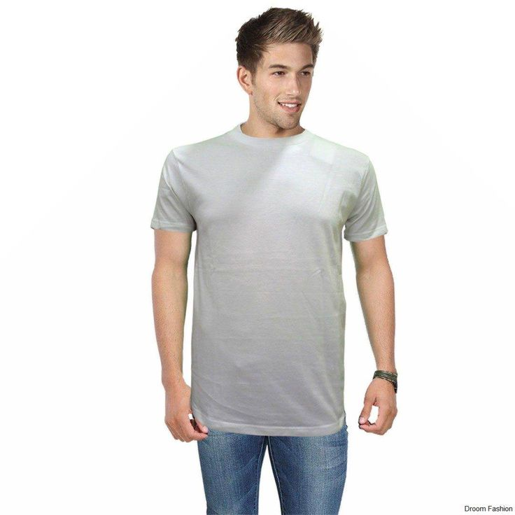 A basic white tee can be teamed up with everything in your wardrobe. Have more option to mix match and the get the best out of it. #WhiteTee #MensWear #RoundNeck #DroomFashion To shop, visit us on http://www.droomfashion.com