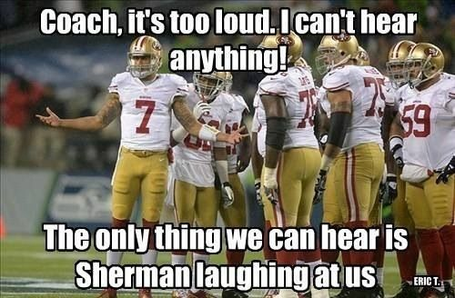 Correction: ALL of the Seahawks and ALL of the 12ers are laughing at you Whiners!!!!