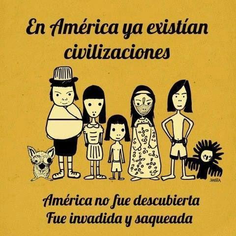 #12deOctubre ¿día de la raza o del racista?  www.flormoon.com.ar/12-de-octubre