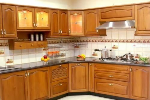 small indian kitchen design in l shape - google search | stuff to