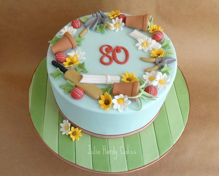 httpsflickrpdjjp6y cricket and gardening cake