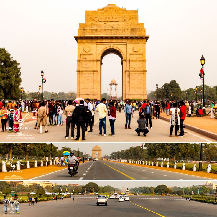India Gate, New Delhi...Lest we forget, this 42m high stone arch pays tribute to 90,000 Indian solders who has died in WWI.  #indiagate #delhi #india #newdelhi #incredibleindia #vaas8790