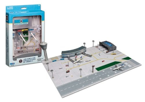 Daron Air Force One 8cm Airplane Airport Set A Gift Idea
