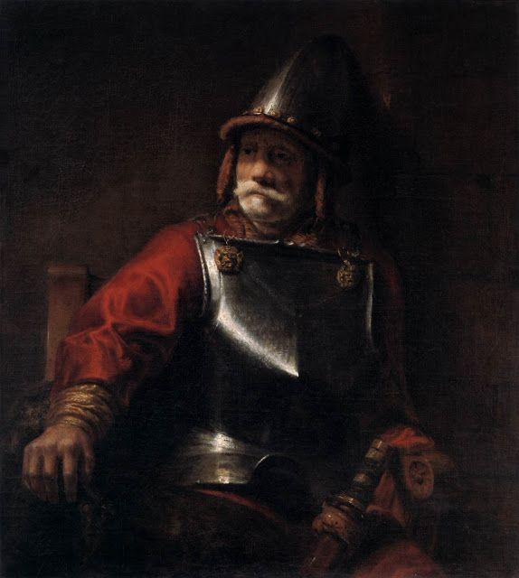 Άνδρας με πανοπλία (1650) * Μητροπολιτικό μουσείο Νέας Υόρκης