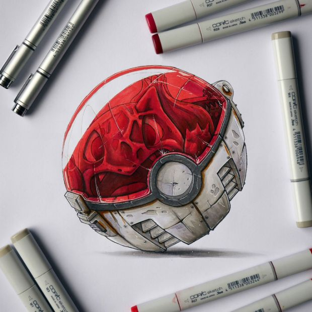 Artists Brilliantly Imagine What Life is Like Inside a Pokeball - UltraLinx