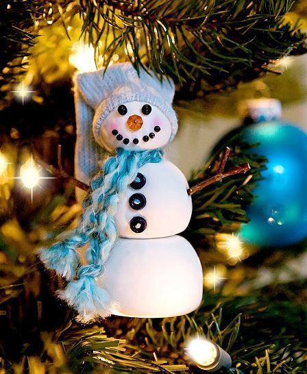 30 Fun DIY Christmas Tree Ornament Projects - DIY & Crafts For Moms Visit and Like our Facebook Page full of Ideas for all Holidays! https://www.facebook.com/pages/Holiday-Helpers/251688461649019?ref=hl