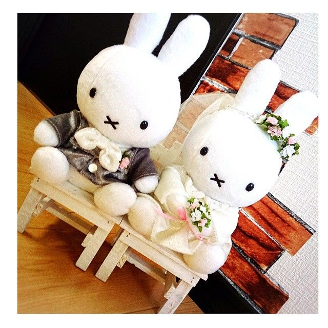love miffy ♡ ベールは、お母さんがつけてくれました♪♪ #nijntje#weddingphotograph#weddingparty#weddingphotographer#weddings#Happy#weddingday#profile#wedding#party#happywedding#結婚式準備#ブライダル#花嫁#結婚#結婚式#ミッフィー#miffy