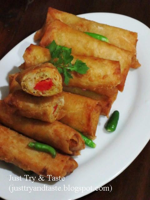 Risoles Isi Bihun, Sayuran & Sosis | Just Try & Taste