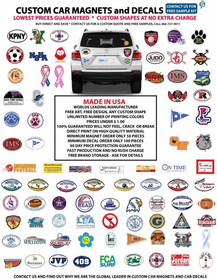 Car Bumper Magnets & Decals