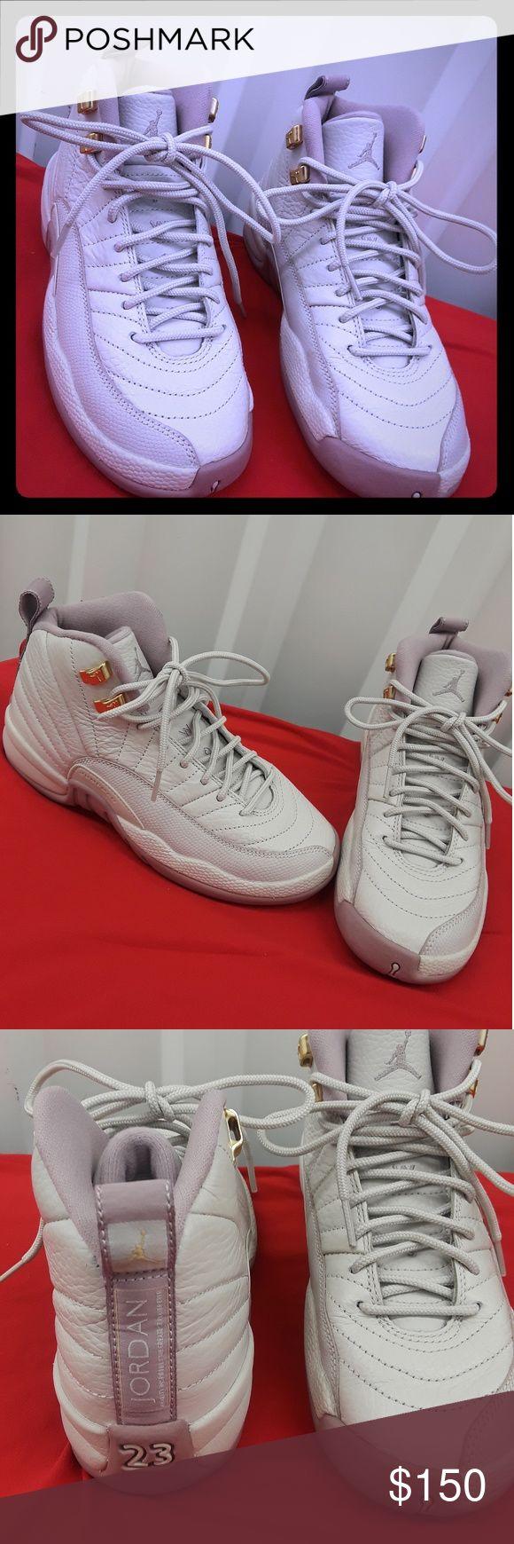 4Y retro Jordan's 4Y retro Jordan's lavender/gryish white Jordan Shoes Sneakers