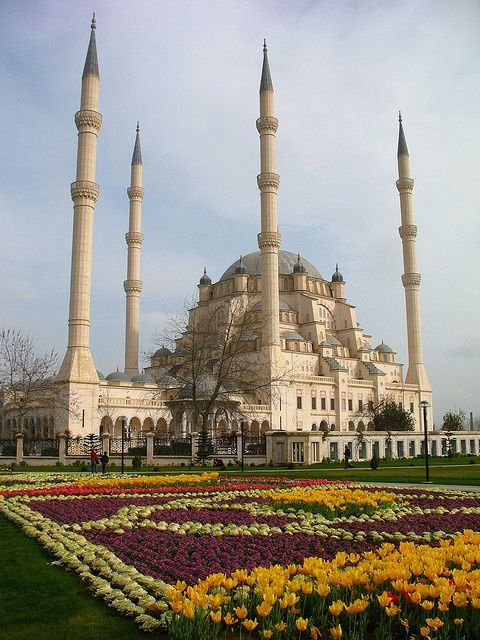 389 best mosques images on pinterest islamic architecture islamic sabanc central mosque in adana the largest mosque in turkey thecheapjerseys Image collections