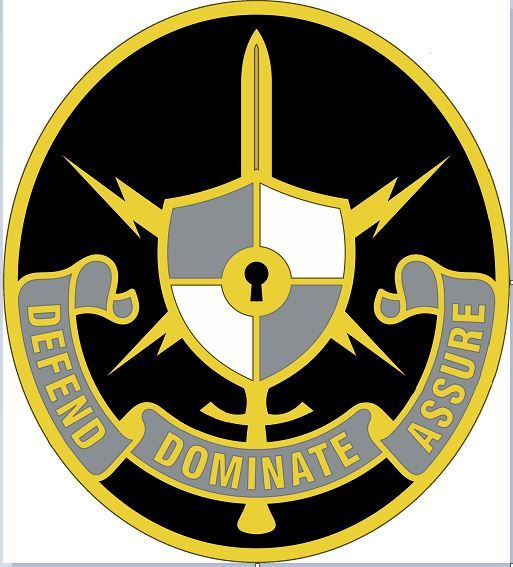 US ARMY CYBER SCHOOL SHOULDER RELEASE FULL COLOR