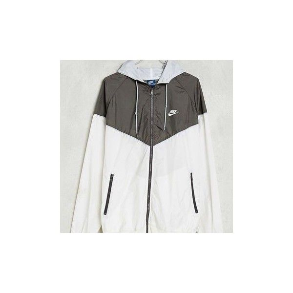 Vintage Nike Windbreaker Jacket Urban Outfitters ❤ liked on Polyvore featuring activewear, activewear jackets and vintage sportswear