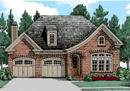 Indian hawthorne home plans and house plans by frank for Indian cottage designs