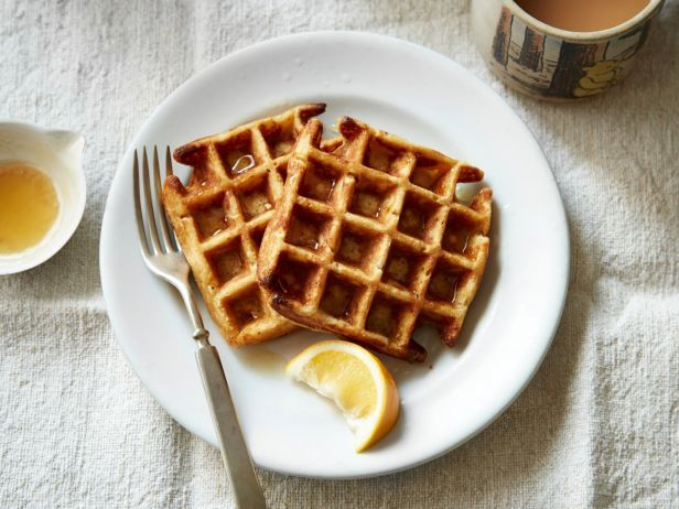These Meyer Lemon Cornmeal Waffles have a tasty, nutty flavor and more robust texture than the average waffle.