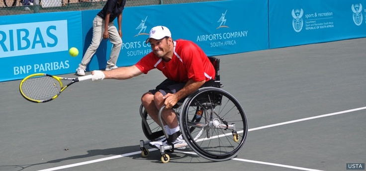 US Paralympic Wheelchair Tennis Hopeful David Wagner