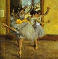 Ballet Class - Degas