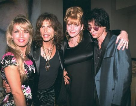 Teresa Barrick - Steven Tyler and Teresa with Bebe Buell