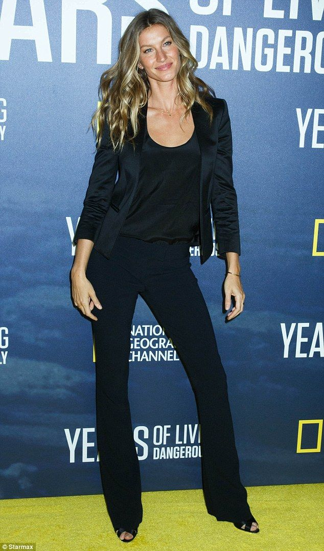 Invest in a classic pair of satin sandals like Gisele  Click 'visit' to buy it now   #DailyMail
