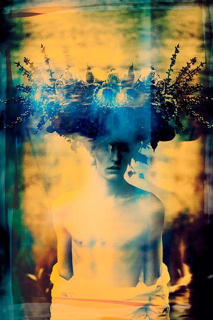 Dark paradise [polaroid] by Elizaveta Porodina, .. www.fashion.net